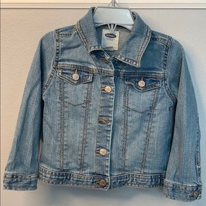 EUC girls denim jacket 3T Old Navy